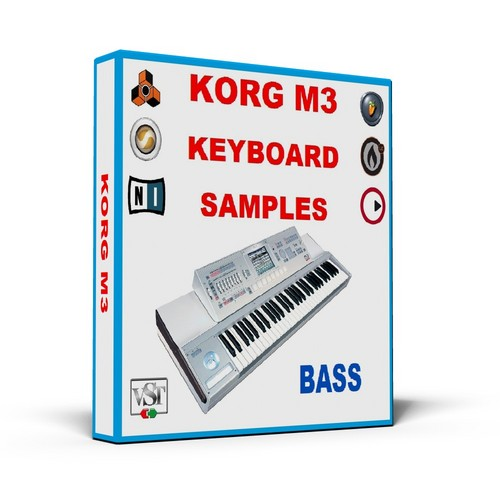 Product picture KORG M3 KEYBOARD SAMPLES     * BASS *    MULTI FORMAT