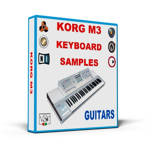 Product picture KORG M3 KEYBOARD SAMPLES     * GUITARS *     MULTI FORMAT
