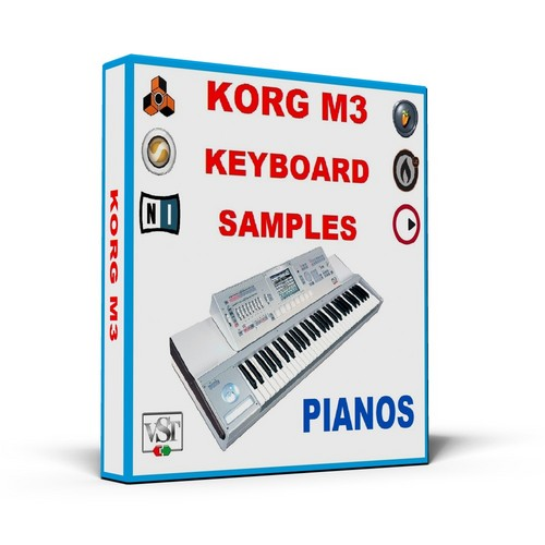Product picture KORG M3 KEYBOARD SAMPLES * PIANOS * MULTI FORMAT